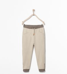 TROUSERS WITH ZIPS AT THE HEM - Trousers - Boy (3 - 14 years) - KIDS | ZARA United States