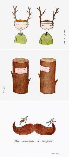 love Marc John's illustrations
