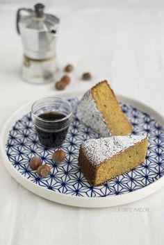 Torta nocciole e caffé | La tarte maison