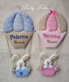"""Fiocco nascita """"Mongolfiera a pois"""" babymobile Fiocco nascita """"Mongolfiera a pois"""" Handmade Crafts, Diy And Crafts, Crafts For Kids, Baby Crafts, Felt Crafts, Balloon Wall, Balloons, Baby Boy Shower, Baby Shower Gifts"""