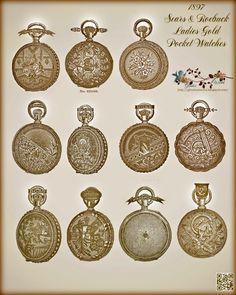 1897 Ladies Pocket Watches Free-printable