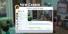 A new little career for your Sims!
