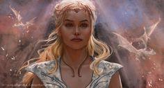 Daenerys by Inna-Vjuzhanina.deviantart.com on #DeviantArt #GameofThrones