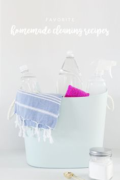 My Favorite Homemade Cleaning Recipes and a Printable | IHeart Organizing | Bloglovin'