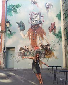 """Miss Van, """"La Symphonie Des Songes"""" in Toulouse, France."""