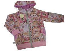 """Mädchen Jacke """"Blumen"""" gefüttert von me Kinderkleidung und ersatzbezuege auf DaWanda.com"""