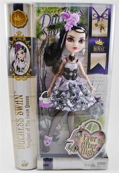 Ever After High Royal Duchess Swan Doll