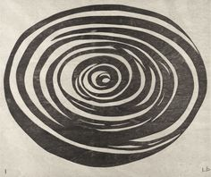 Louise Bourgeois - 2005 - One from a suite of twelve woodcuts.