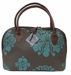 MONGOOSE LUCA BAG AFRICAN DAISY TURQUOISE - love these bags!