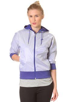 #planetsports NIKE SPORTSWEAR -Womens Liberty Windrunner Jacket light concord/light concord