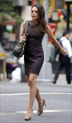 Mila Kunis...street style