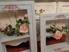 A pair of wood, beach, cottage chic, shabby chic distressed framed shadow wall shelf/box by shabbyhome on Etsy https://www.etsy.com/listing/233386719/a-pair-of-wood-beach-cottage-chic-shabby