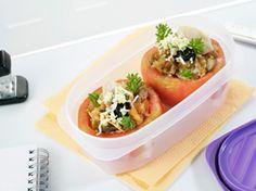 Tomates rellenos de bonito para llevarlos en tu tupper ;) #recetas