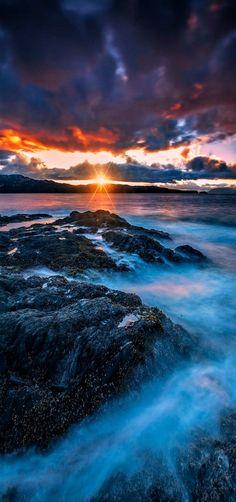 The Last Light | Sunset By Carlos Rojas