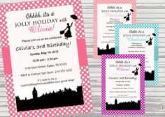 Hey, I found this really awesome Etsy listing at http://www.etsy.com/listing/167461105/mary-poppins-jolly-holiday-invitation