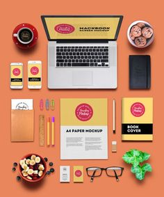 10 mockups de identidade visual para download gratuito