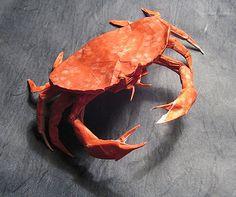 12 amazing origami of aquatic animals.