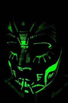 needs glow in the dark paint
