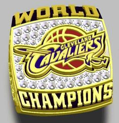2016 Cleveland Cavaliers Basketball NBA Basketball Championship Ring James Fans Souvenir - Cavaliers - Basketball