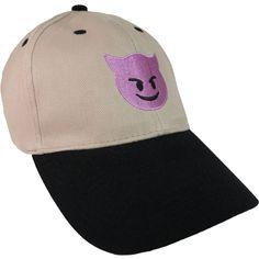 LITTLE DEVIL Emoji - Emoji Hats - Buy emoji online - LUCKY Emojis® Cap.