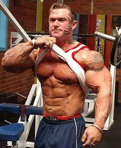 Image Detail for - Bodybuilder Lee Priest Huge Arms | Ripped Workouts