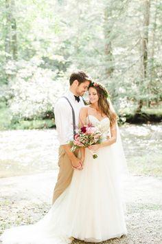 Bohemian Forest Wedding Inspiration Grace Derek Lauren Fair Photography_0092