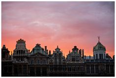 Guildhalls Grand-Place of Brussels, Belgium