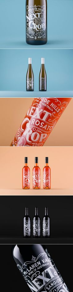 Check Out This Beautiful Type-Heavy Wine Packaging — The Dieline | Packaging & Branding Design & Innovation News
