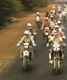 Rally Raid, Motorbikes, Wheels, Motorcycle, Paris, Vehicles, Classic, Vintage, Timber House