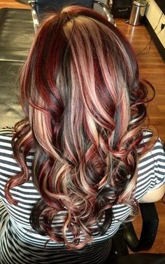 34 Latest Hair Color Ideas for 2019 - Get Your Hairstyle Inspiration for Next Season, Hair Color Girls love to experiment, especially with hair color. But such experiments can both bring joy and spoil the mood for a long time. Gorgeous Hair Color, Hot Hair Colors, Fall Hair Colors, Ombre Hair Color, Brown Hair Colors, Hair Colour, Magenta Hair Colors, Cabello Color Chocolate, Chocolate Brown Hair Color