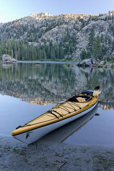That definitely looks like the one.  I love canoes but kayaks cut through the water better in the wind and against currents.