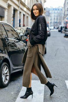 Street Style: Paris Fashion Week Fall '15 | Studded Hearts | Bloglovin'