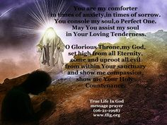 You console my soul, o Perfect One.