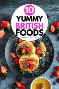 British Food - 10 dishes you need to try on your next trip to the United Kingdom. A true foodie travel paradise. Irish Recipes, Mexican Food Recipes, Ethnic Recipes, Celtic Food, Fancy Foods, Ethnic Food, English Food, Evening Meals, World Recipes