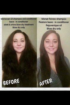 Moroccan hair oil VS. MONAT global