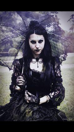"Elegance in Darkness — wondrous-beauties: ""Dark Beauty"" from Dark Noir"