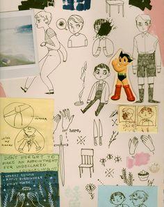 Sketchbook by Mel Tow