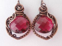 SOLD: RESERVED for CR  AAA Pomegranate Pink Quartz by PerfectlyTwisted, $55.00