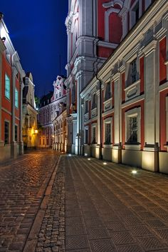 Colors at night - Poznan, Wielkopolskie
