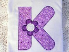 Spring Bloom letter K