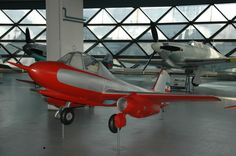"451M   On the basis of his previous project, type 451, engineer Dragoljub Bešlin, heading the Designers Group No. 9, of the General Direction of Aeronautical Industry, created the first Yugoslav jet plane, type 451 M, letter M meaning ""mlazni"" – jet, keeping, in general, the shape and dimensions of the 451 type. Instead of piston engines turbojets were built in, and cockpit was conventional, pilot in seating position. The prototype was built by ""Ikarus"" aircraft factory, and the first test…"