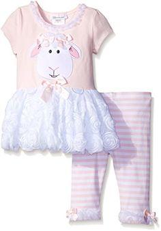Bonnie Jean Girls' Lamb Appliqued Playwear Set, Pink, 6 B... https://www.amazon.com/dp/B018SVO2OW/ref=cm_sw_r_pi_dp_x_1U3RybZ5C7D1R