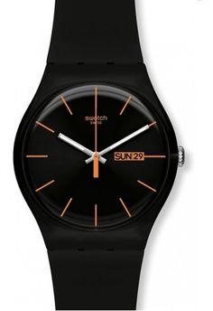 Montre Dark Rebel SUOB704 Swatch Noir | Montres & Co