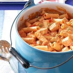 Chicken Riggies Recipe from Taste of Home -- shared by Jackie Scanlan of Dayton, Ohio