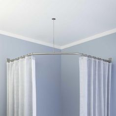 Neo-Angle Shower Rod and Ceiling Support