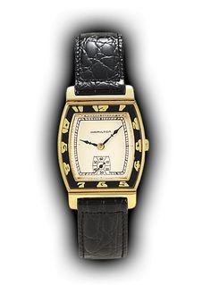 Hamilton Coronado vintage watch, masterpiece of Art Deco design, 1929