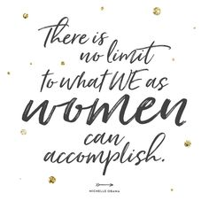 """To all of the amazing women who ever feel like they """"cant"""" or aren't enough, let this be a reminder to you that you CAN and you ARE so enough! Women's Day 8 March, 8th Of March, March Quotes, National Womens Day, Women's Day Cards, Joyous Health, Womens Day Quotes, Happy Woman Day, Life Thoughts"""
