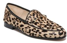 Women's Sam Edelman Lior Genuine Calf Hair Loafer. My favourite loafer I own but in leopard. Love.
