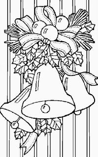 Christmas Coloring Pages - Free Printable Coloring Pages for Kids - Coloring Books Colouring Pages, Printable Coloring Pages, Adult Coloring Pages, Coloring Books, Coloring Sheets, Christmas Bells, Christmas Colors, Christmas Art, Christmas Classics