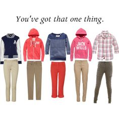 One Direction Girl Version, created by savannahfaithstyles on Polyvore: I would so wear all of these!!!
